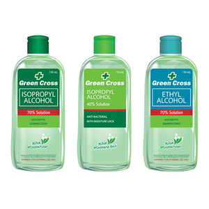 Green Cross Ethyl Rubbing Alcohol 70% Solution 500ml