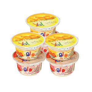Al Rawabi Yoghurt Assorted 6x130g