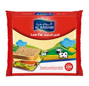 Al Rawabi Low Fat Slice 200g