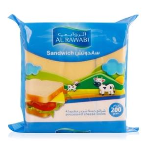 Al Rawabi Sandwich Cheese 200g