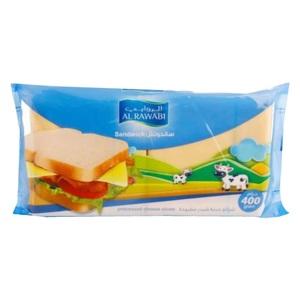Al Rawabi Sandwich Cheese Slices 400g