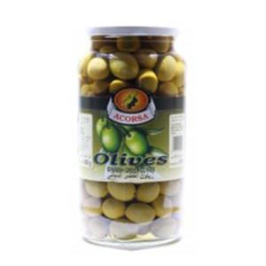 Acorsa Olives Green Plain Jar 950g