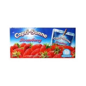 Capri Sun Strawberry Juice 10x200ml