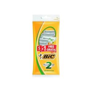 Bic Sensitive Disposable Razors 6pcs