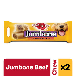 Pedigree Jumbone Medium with Beef Dog Treats Multipack 200g