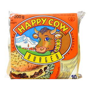 Happy Cow Cheese 4burger 200g