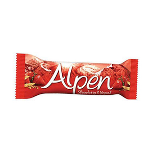 Alpen Strawberry And Yogurt Cereal Bar 29g