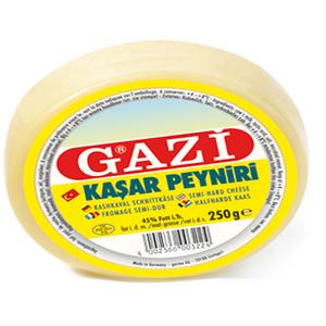 Gazi Kashkaval Hard Cheese 250g