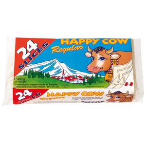 Happy Cow Slice Cheese 400g