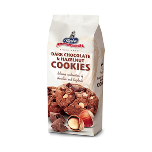 Merba Dark Choco Hazelnut Cookie 200g