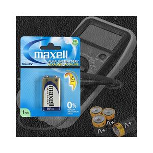 Maxell Alkaline 9v 1pc