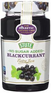 Stute Diabetic Black Currant Jam 430g