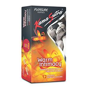 Kama Sutra Warm Intimacy Condoms 12pc