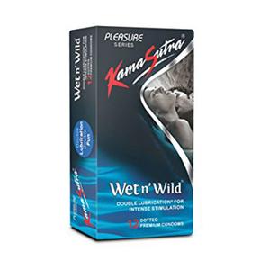 Kama Sutra Condom Wet N Wild 12pc