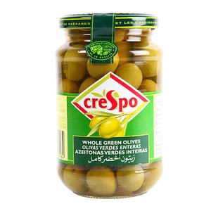 Crespo Green Olive Whole 354g