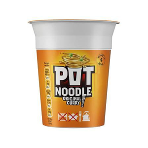 Pot Noodles Orginal Curry 90 Gm 90g