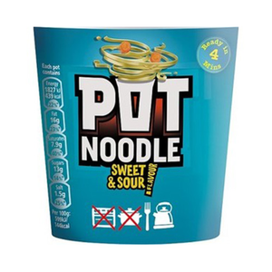 Pot Noodles Chinese Sweet & Sour 90 Gm 90g