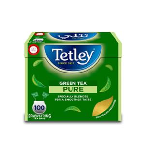 Tetley Pure Green Tea 100pcs