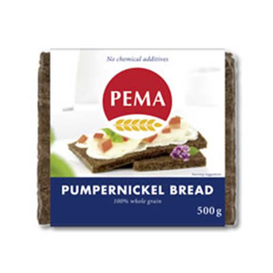 Pema Pumpernickle Bread 500g