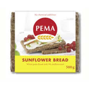 Pema Rye Bread With Sunflower 500g
