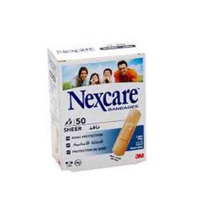 Nexcare Sheer Bandages 50pc