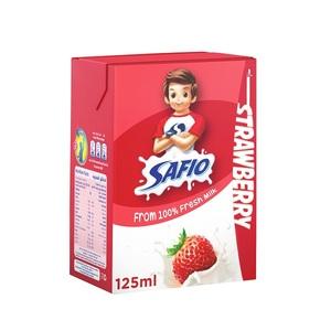 Safio Strawberry Flavor UHT Milk 125ml