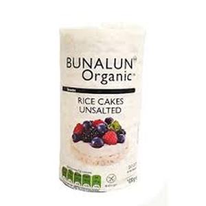 Bunalun Organic Rice Cake Unsalted 100g