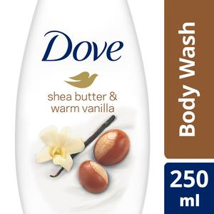 Dove Purely Pampering Body Wash Shea Butter 250ml