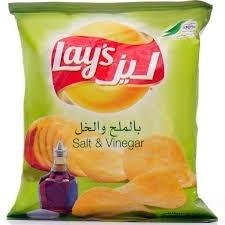 Lays Chips Salt & Vinegar 23g