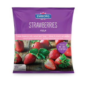 Emborg Whole Strawberry 450gm