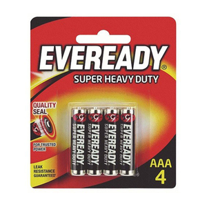 Eveready Black Bp 4 (Aaa) 4 S 4s