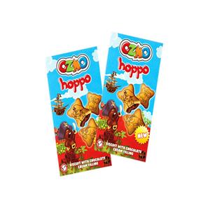 Ozmo Hoppo Biscuit W/ Chocolate 40g