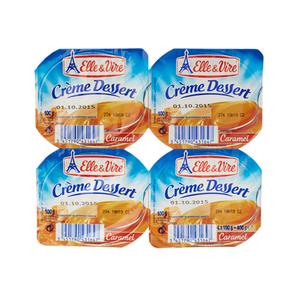 Elle & Vire Cream Dessert Caramel 100g