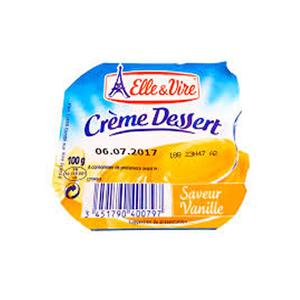 Elle & Vire Dessert Vanilla 100g