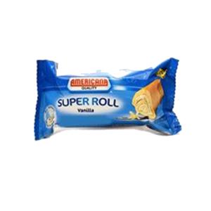 Americana Single Miniroll Vanilla 25g