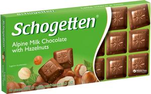 Mauxion Whole Milk Nut Chocolate 100gm