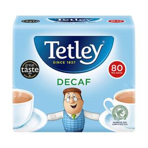 Tetley Tea Bag Decaff 80's 250gm