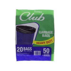 Sanita Club Garbage Bags Medium 20s