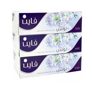 Fine Sterilized Facial Tissues Classic White Tissues 100sx3Ply