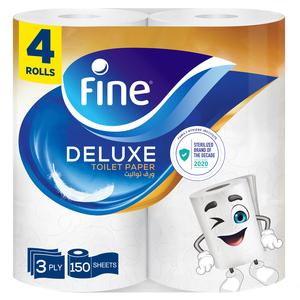 Fine Sterilized Toilet Paper Deluxe 4x150s