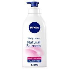 Nivea Natural Fairness Body Lotion With Liquorice & Berry All Skin Types 625ml
