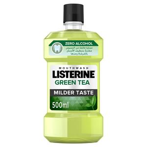 Listerine Mouthwash Green Tea 500ml