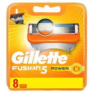 Gillette Fusion Power Men's Razor Blade Refills 8s