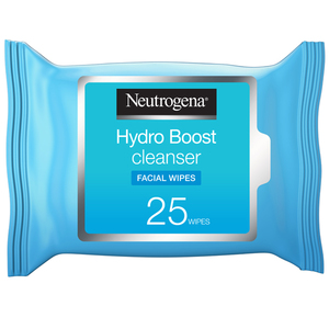 Neutrogena Makeup Remover Face Wipes Hydro Boost Cleansing 25s