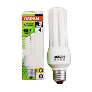 Osram Energy Saver Bulb 20w E27 1pc