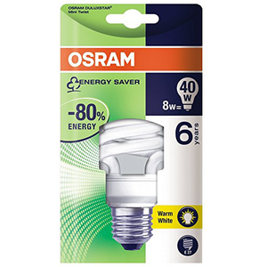 Osram Energy Saver Mini Twist 1pc