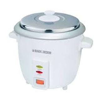 Black & Decker Rice Cooker 0.6ltr Rc650 1x1pc