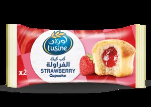 Lusine Cupcake Strawberry 60g