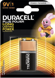 Duracell Battery Plus Power 9 V 1pkt