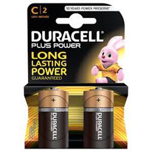 Duracell Pluspower C2 1pcs